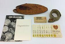 BOY SCOUT Vintage Lot OATH PLAQUE Merit Badges S. CALIFORNIA EXPOSITION TICKET