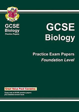 GCSE Biology Foundation Level: Bookshop Practice Papers by CGP Books...
