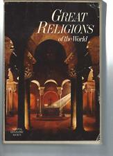 GREAT RELIGIONS OF THE WORLD & EVERYDAY LIFE IN BIBLE TIMES - 2 Books