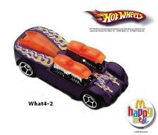 MIP McDonald's Happy Meal 2006 Hot Wheels #4 WHAT 4-2 Sgl Toy Diecast Car