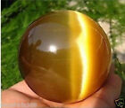 Beautiful ASIAN TIGER EYE CRYSTAL HEALING BALL SPHERE 40MM + STAND