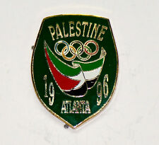 Atlanta 1996 Palestine Dated Olympic NOC Pin Badge: First Ever!