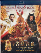 The Monkey King 2D + 3D Blu Ray Donnie Yen Chow Yun Fat NEW Eng Sub 2-Disc