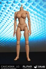 TRIAD TOYS - CAUCASIAN ALPHA HEADLESS LGB FEMALE 1/6TH SCALE ACTION FIGURE BODY