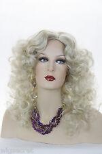 Pearl Platinum Blonde Lt. Cool Beige Blonde Blonde Long Medium Skin Top Cur Wigs