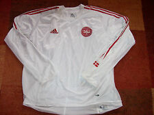2004 2006 Denmark L/s Player Issue Dual Layer Football Shirt Adults XXL Top