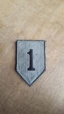 US ACU PATTERN VELCRO BACKED 1st INFANTRY DIVISION PATCH - NEW
