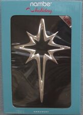 Nambe 8 Point Star of Bethlehem Ornament New in Box