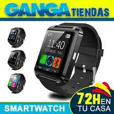 Reloj Inteligente SmartWatch U 8 iPhone IOS Samsung Android Bluetooth Negro