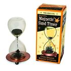 Magnetic Sculpture Sand Timer Gift Hour Glass Style Mantelpiece Decoration