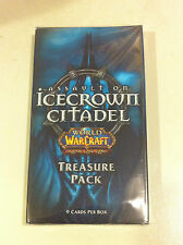 WOW World of Warcraft TCG Icecrown Citadel factory sealed Treasure pack!