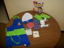 Curious Chef 19-Piece Measure Prep Kit Apron Oven Mitts Junior Cookbook Chef Hat
