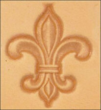 Fleur-De-Lis 3D Stamp 8613-00 by Tandy Leather