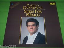 Placido Domingo-Cavallina for Mexico canta para MEXICO-DGG Spain LP