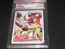 BATMAN SERIES LEGEND 1966 TOPPS #32A AUTHENTIC VINTAGE TRADING CARD PSA GRADED 2