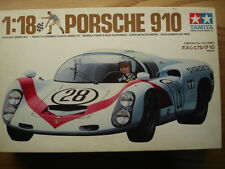 Tamiya 1:18 Scale Porsche 910 Sports Racer Model Kit - New In Box - Vintage
