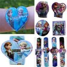 New Unisex random kids Snap Slap FANCY Strap Wrist Cartoon Watch toy gifts HOT