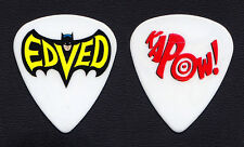 Pearl Jam Eddie Vedder EdVed Batman Kapow Guitar Pick - 2013 Lightning Bolt Tour