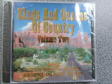 KINGS AND QUEENS OF COUNTRY VOL.2 - VARIOUS ARTISTS - CD - ALBUM - (NEW SEALED)
