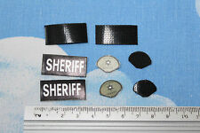 BBI 1/6TH SCALE MODERN SWAT BLACK BADGES FROM CHARLES