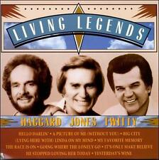 Living Legends by Merle Haggard/George Jones/Conway Twitty (CD, Epic (USA))