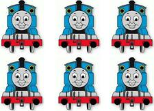 6 X THOMAS THE TANK MINNIE/SMALL IRON ON T SHIRT TRANSFERS LIGHT/WHITE FABRICS