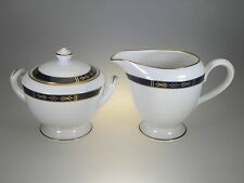 Royal Worcester Royal Lily Creamer & Covered Sugar Set NEW WITH TAGS Made in UK