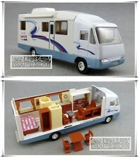 Classic RV Motorhome Trailer Camper Trip Car Model Toys X1PC & Christmas Gift
