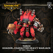 Warmachine BNIB - Khador Torch UPGRADE KIT