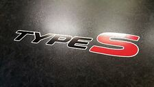 x2 Honda Civic Type S premium side sticker decals