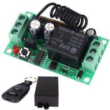12V 10A relais sans fil Commutateur RF Remote Control émetteur+récepteur noir EH