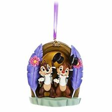 disney store 2014 sketchbook chip 'n' dale and clarice christmas ornament new