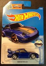 2016 Hot Wheels CUSTOM Super Treasure Hunt Porsche 993 GT2 with Real Riders