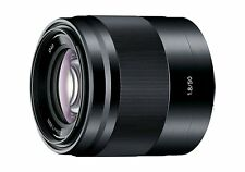 Sony E 50mm F1.8 OSS Lens Black 50 F/1.8 SEL50F18/BK for NEX ILCE E-Mount ~ NEW