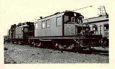 6K468 RP 1940s INDIANA RAILROAD LOCO #753 LINE CAR #763 SEELEYVILLE IN