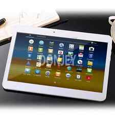 10 ZOLL TABLET PC QUAD CORE 4x 1,5Mhz ★32GB★ ANDROID 2x SIM SLOT 2GB RAM Weiß