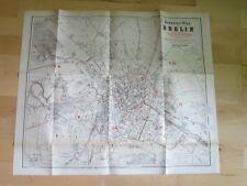 Post Archiv Edition 4 76 Stadtplan Berlin 1874 und Postkarte Berlin 1874