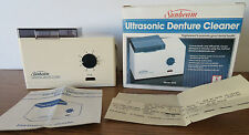 EUC VTG 1986 SUNBEAM ULTRASONIC DENTAL DENTURE CLEANER MODEL 4220 ELECTRIC