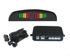 4 Parking Sensors LED Display Car Auto Backup Reverse Radar System Alarm Kit Rea
