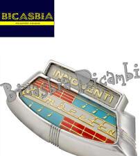 9249 - TARGHETTA COPRISTERZO LAMBRETTA LI 150 SERIE 3 SPECIAL SERVETA