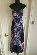 Unwanted gift.Lipsy Maxi Party Floral Print Embelished Dress Uk6 RRP160 BNWT