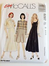 Misses' Dress in 2 Lengths 1996 McCall's Easy Pattern #8297 Size (8,10,12)Unused