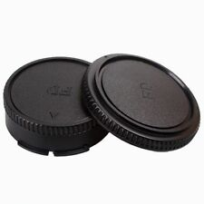 Body Cover + Lens Rear Cap for CANON FD Camera and Lens Protect