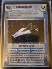 Star Wars CCG Death Star II Green Squadron A-wing NON-MINT SWCCG