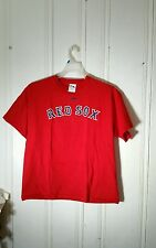 BOSTON RED SOX PAPELBON TEE 58 LARG(XL) RED SHORT SLEEVE GRAPHIC FRONT AND BACK