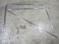 DATSUN NISSAN 240Z 260Z 280Z FAIRLADY REAR HATCH GLASS STAINLESS TRIM 1970-1978