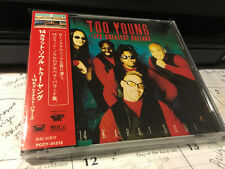 TOO YOUNG - 14K GREATEST BALLADS: 14 KARAT SOUL JAPAN CD+OBI PCCY-01212