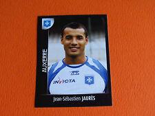 N°9 JEAN SEBASTIEN JAURES  AJA AJ AUXERRE PANINI FOOT 2008 FOOTBALL 2007-2008