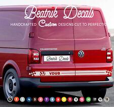 VW T4 T5 Side Stripe Sticker Decal Graphic Volkswagen Transporter Logo Dub