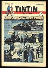 Journal de TINTIN belge  1948   n°31